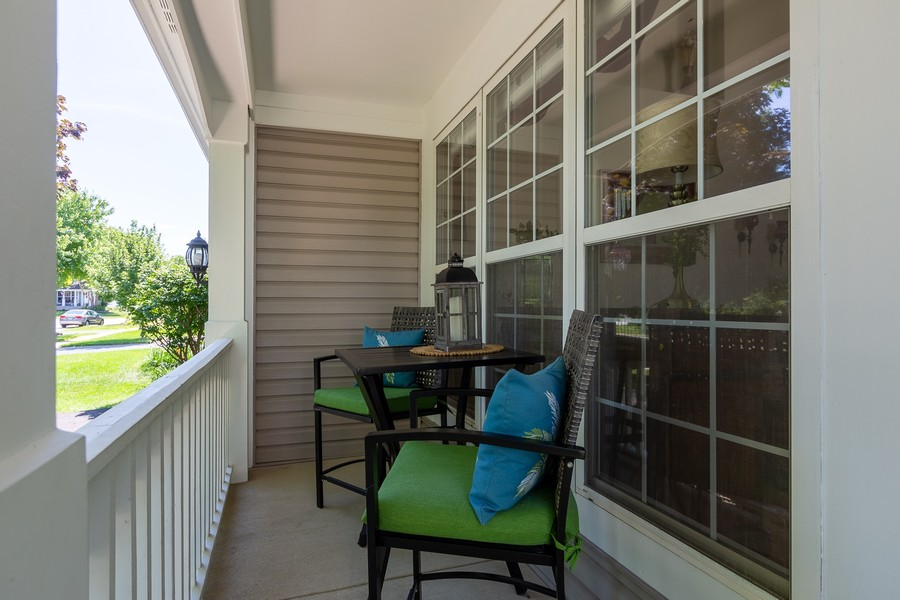 Real Estate Photography - 2135 Periwinkle Ln, Naperville, IL, 60540 - EXTERIOR FRONT PORCH