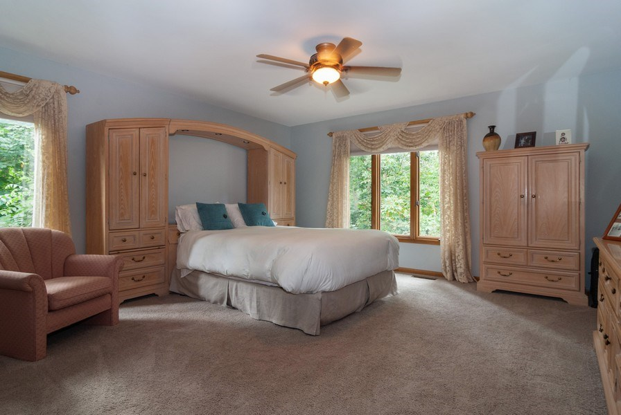Real Estate Photography - 2S370 Madison St, Wheaton, IL, 60189 - Master Bedroom