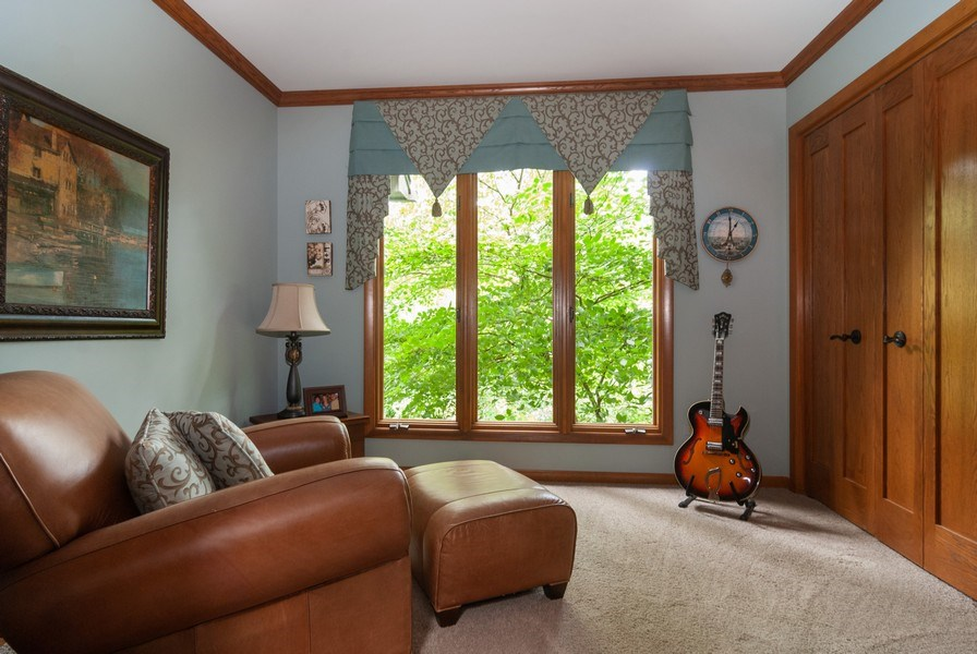 Real Estate Photography - 2S370 Madison St, Wheaton, IL, 60189 - 2nd Bedroom