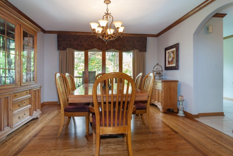 Real Estate Photography - 2S370 Madison St, Wheaton, IL, 60189 - Dining Room