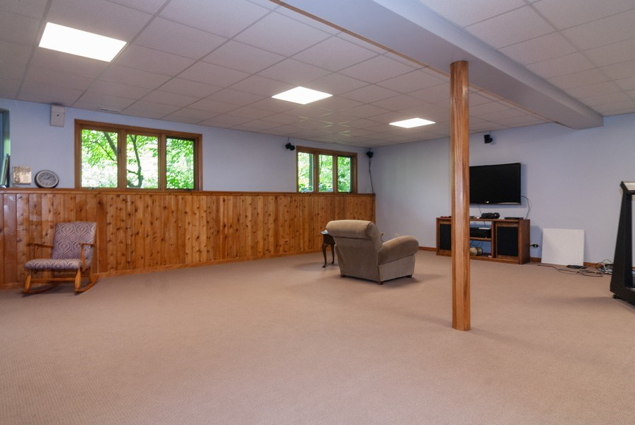 Real Estate Photography - 2S370 Madison St, Wheaton, IL, 60189 - Basement