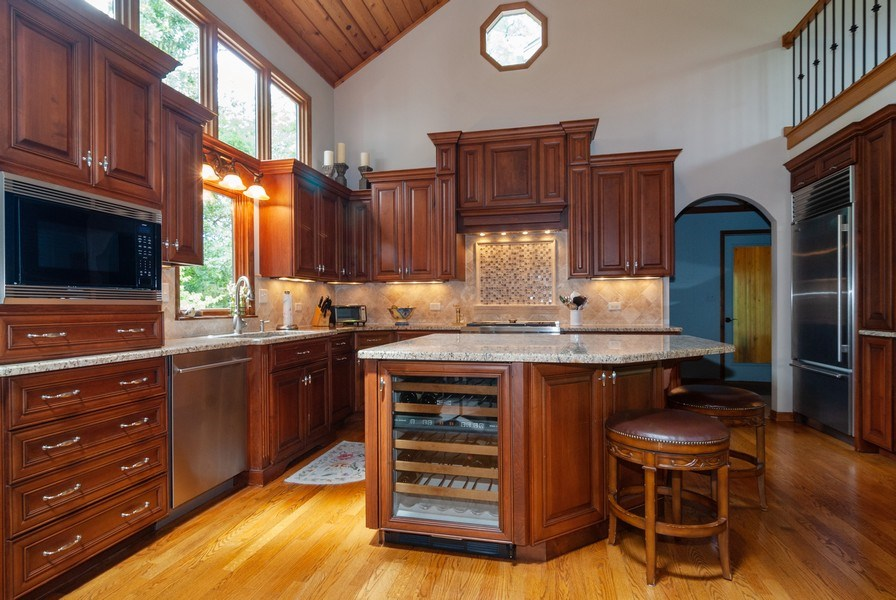 Real Estate Photography - 2S370 Madison St, Wheaton, IL, 60189 - Kitchen