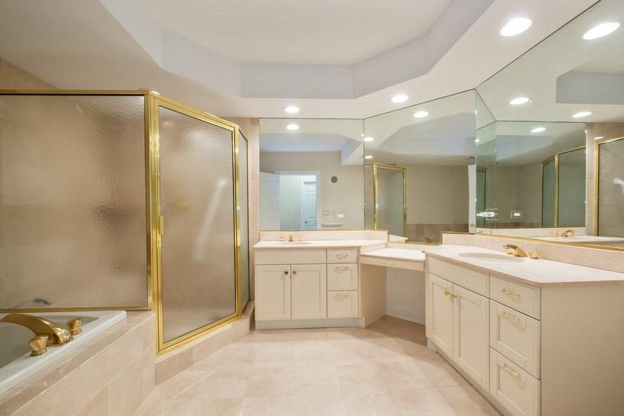 Real Estate Photography - 2021 St Johns Ave, Highland Park, IL, 60035 - Master Bathroom