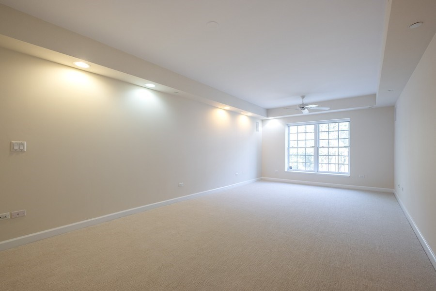 Real Estate Photography - 2021 St Johns Ave, Highland Park, IL, 60035 - Master Bedroom