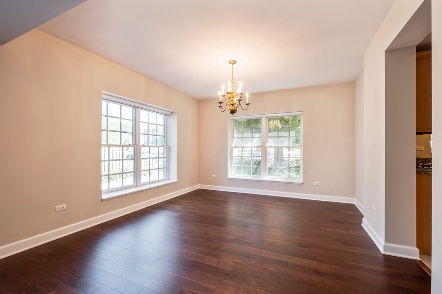 Real Estate Photography - 2021 St Johns Ave, Highland Park, IL, 60035 - Dining Room