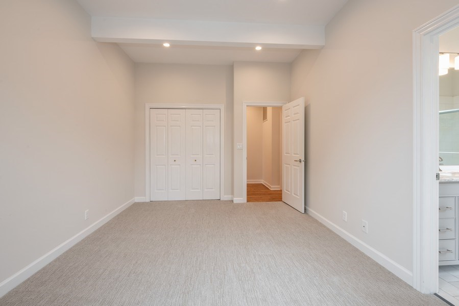 Real Estate Photography - 4655 North Hermitage Ave, 3, Chicago, IL, 60640 - Master Bedroom