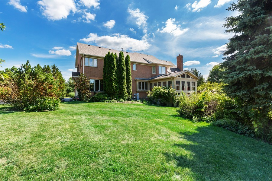 Real Estate Photography - 37W542 High Point Ct, Royal Fox, St. Charles, IL, 60175 - Rear View