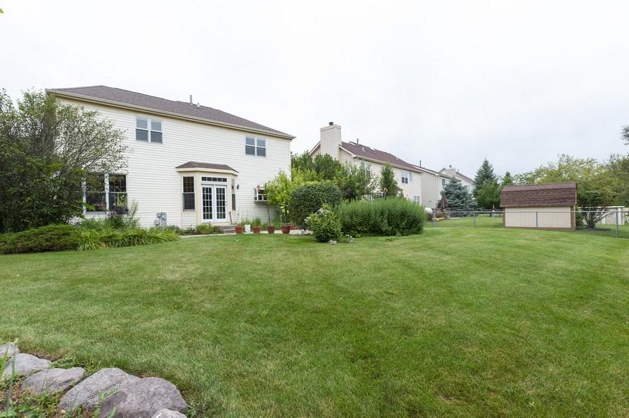 Real Estate Photography - 93 Cambridge Dr, Grayslake, IL, 60030 - Rear View