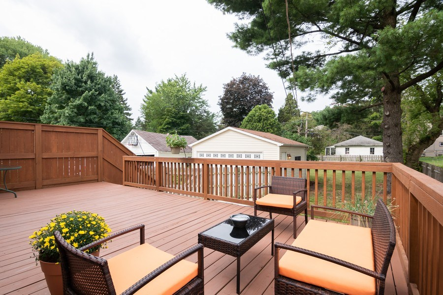 Real Estate Photography - 514 Ardmore Ave, Villa Park, IL, 60181 - Deck