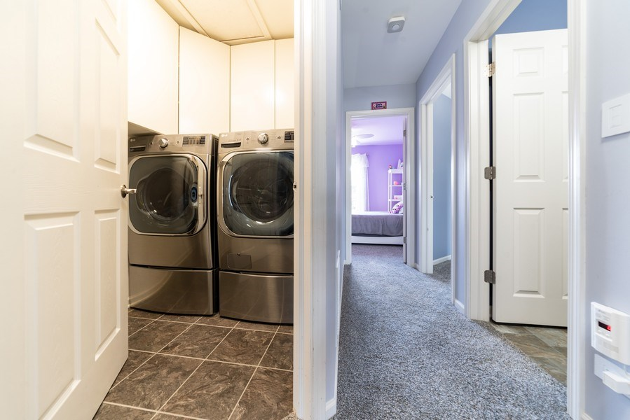 Real Estate Photography - 3997 Blackstone Dr, Aurora, IL, 60504 - Laundry Room