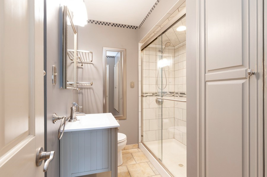 Real Estate Photography - 18 Lakeview Drive, Mundelein, IL, 60060 - Bathroom