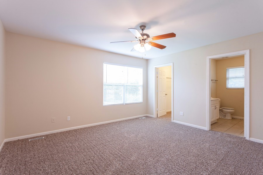 Real Estate Photography - 970 North Highland Ave, Aurora, IL, 60506 - Master Bedroom