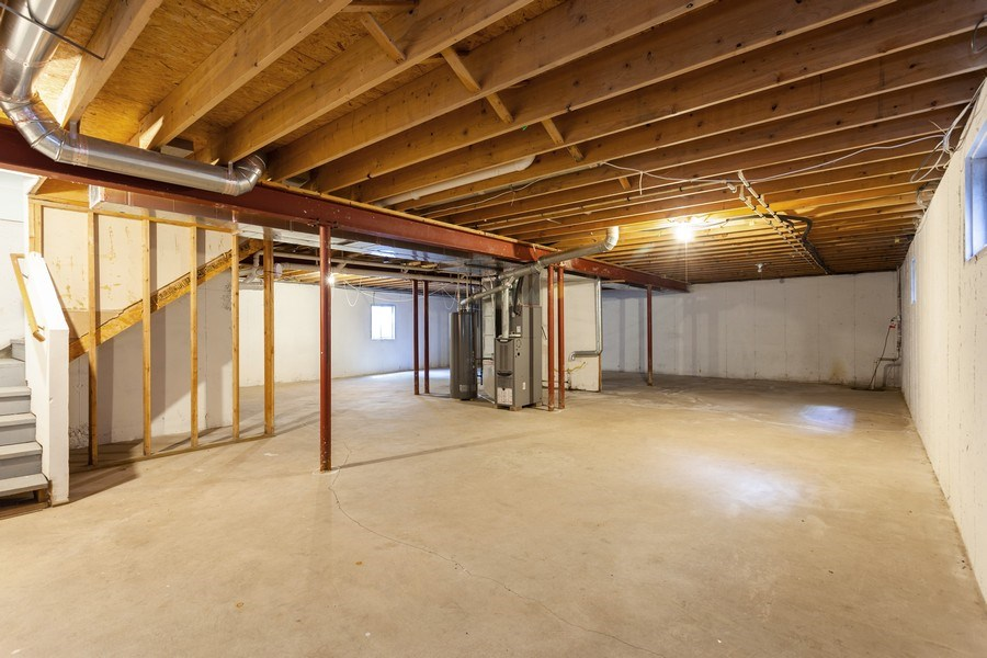 Real Estate Photography - 970 North Highland Ave, Aurora, IL, 60506 - Basement