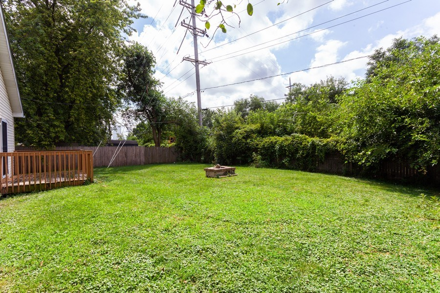 Real Estate Photography - 970 North Highland Ave, Aurora, IL, 60506 - Back Yard