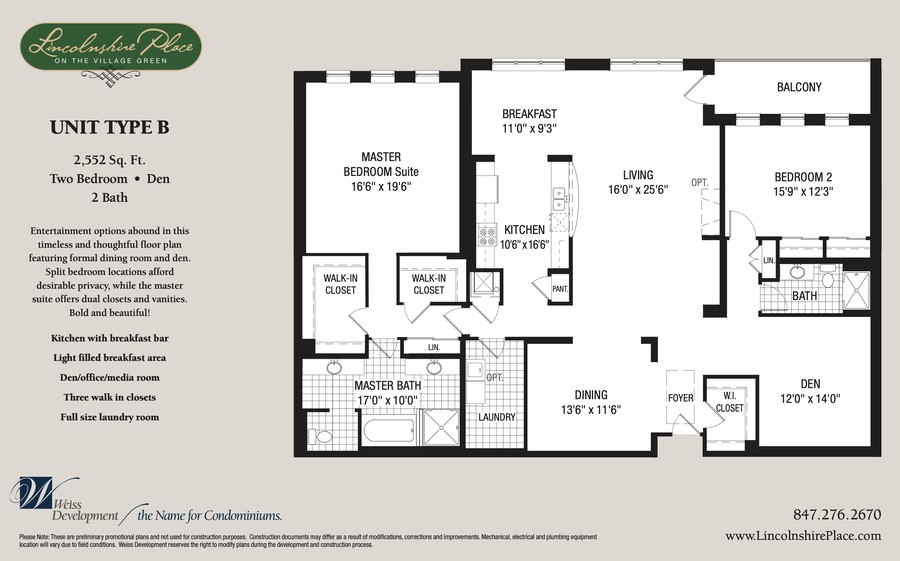 Real Estate Photography - 400 Village Green Pkwy, 304, Lincolnshire, IL, 60069 - Floorplan