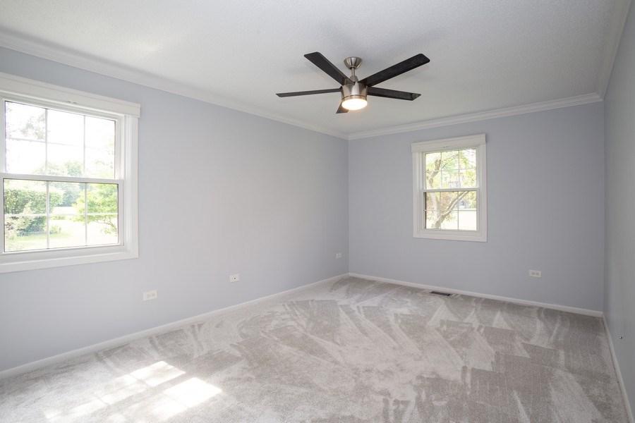 Real Estate Photography - 603 Elizabeth Dr, 27-A-L, Wood Dale, IL, 60191 - Master Bedroom