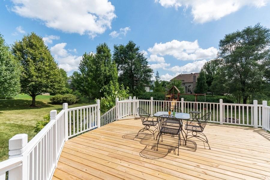 Real Estate Photography - 612 Ridgelawn Trl, Batavia, IL, 60510 - Deck