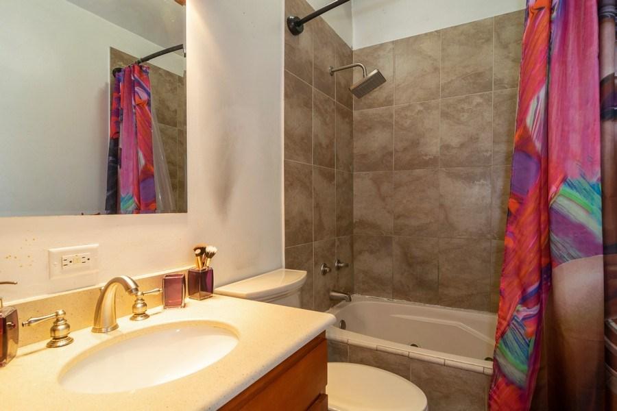 Real Estate Photography - 1758 Raleigh Ln, Hoffman Estates, IL, 60169 - Master Bathroom