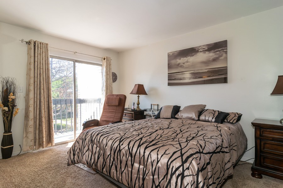 Real Estate Photography - 1758 Raleigh Ln, Hoffman Estates, IL, 60169 - Master Bedroom