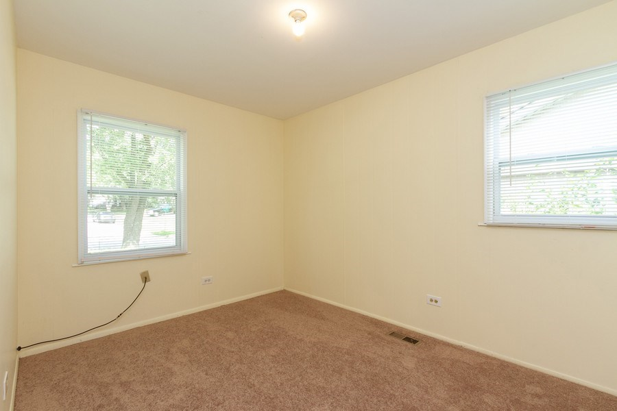 Real Estate Photography - 22201 Belmont Rd, Richton Park, IL, 60471 - 2nd Bedroom
