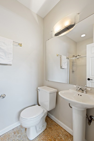Real Estate Photography - 1618 North Burling St, A, Chicago, IL, 60614 - Bathroom