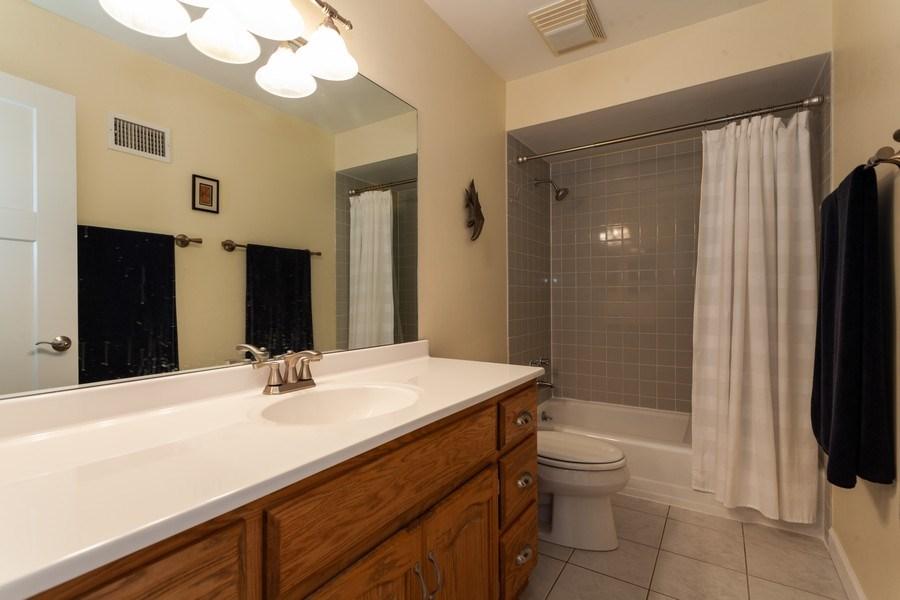 Real Estate Photography - 202 Chanticleer Ln, Hinsdale, IL, 60521 - Bathroom