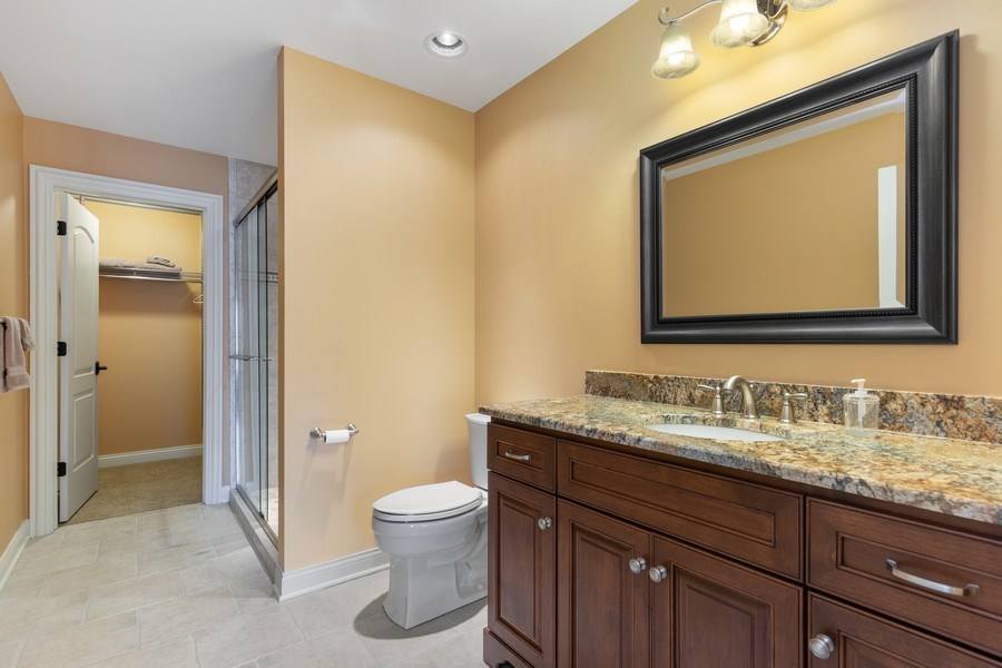 Real Estate Photography - 1108 Heatherton Dr, Naperville, IL, 60563 - Bath for BR 3