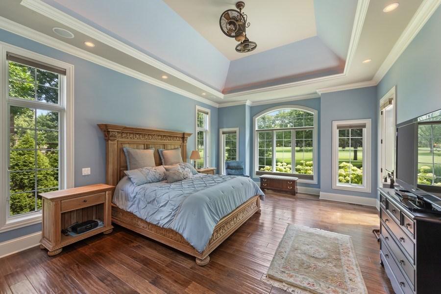 Real Estate Photography - 1108 Heatherton Dr, Naperville, IL, 60563 - Main level Master BR suite