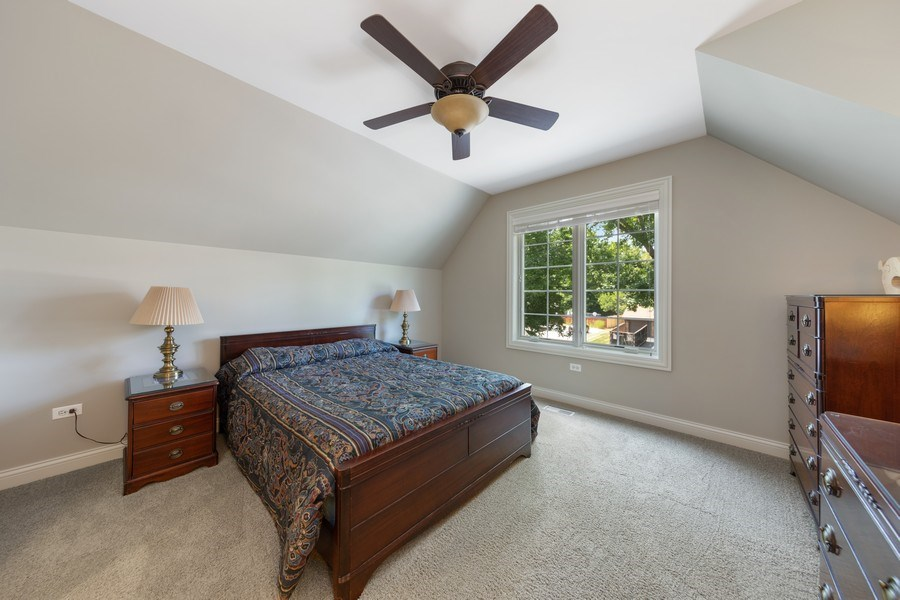 Real Estate Photography - 1108 Heatherton Dr, Naperville, IL, 60563 - BR 4 also ensuite
