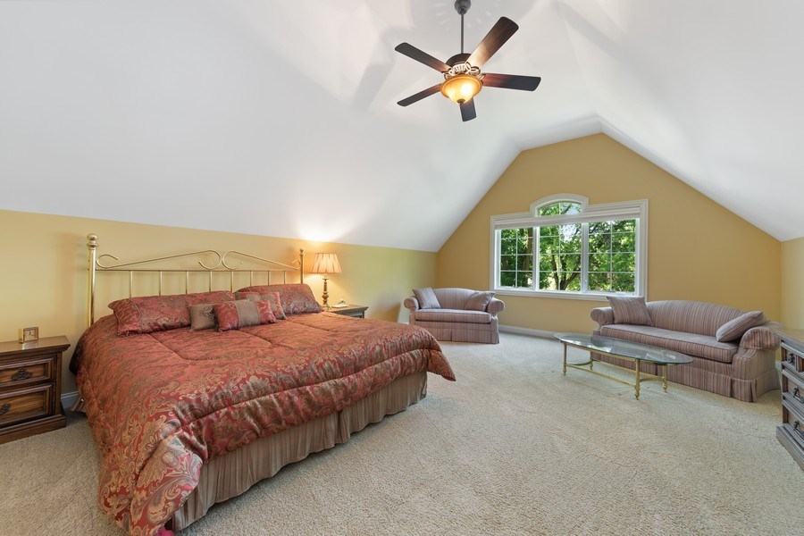 Real Estate Photography - 1108 Heatherton Dr, Naperville, IL, 60563 - BR 2 ensuite-Could be a 2nd MBR