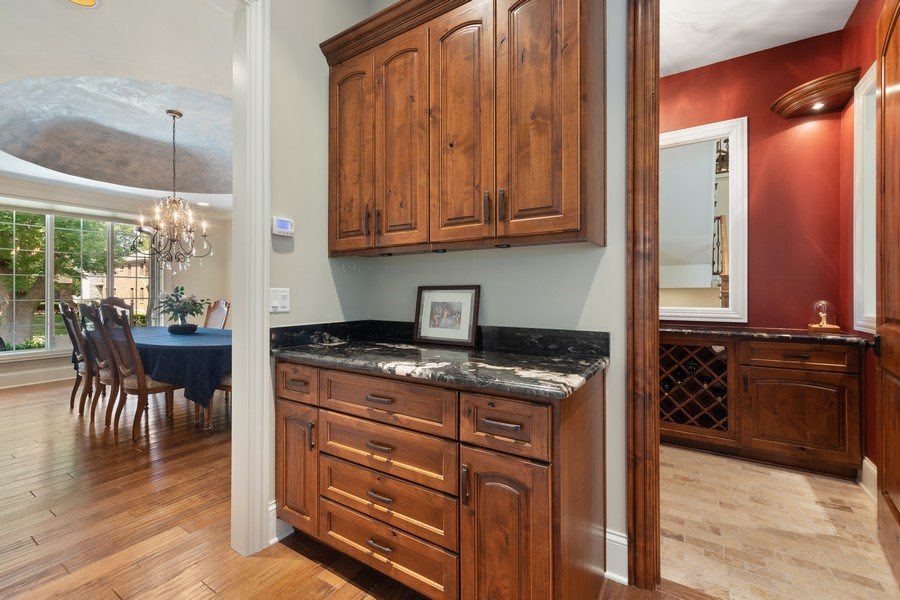 Real Estate Photography - 1108 Heatherton Dr, Naperville, IL, 60563 - Butler's pantry