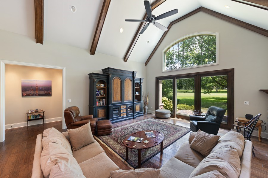 Real Estate Photography - 1108 Heatherton Dr, Naperville, IL, 60563 - Great Room/Family Room