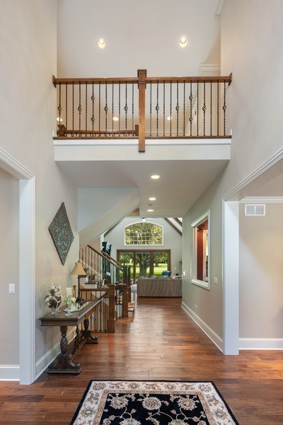 Real Estate Photography - 1108 Heatherton Dr, Naperville, IL, 60563 - Foyer