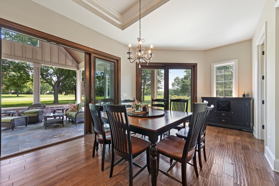 Real Estate Photography - 1108 Heatherton Dr, Naperville, IL, 60563 - Breakfast Area