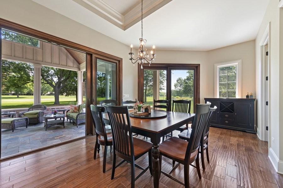 Real Estate Photography - 1108 Heatherton Dr, Naperville, IL, 60563 - Breakfast Area