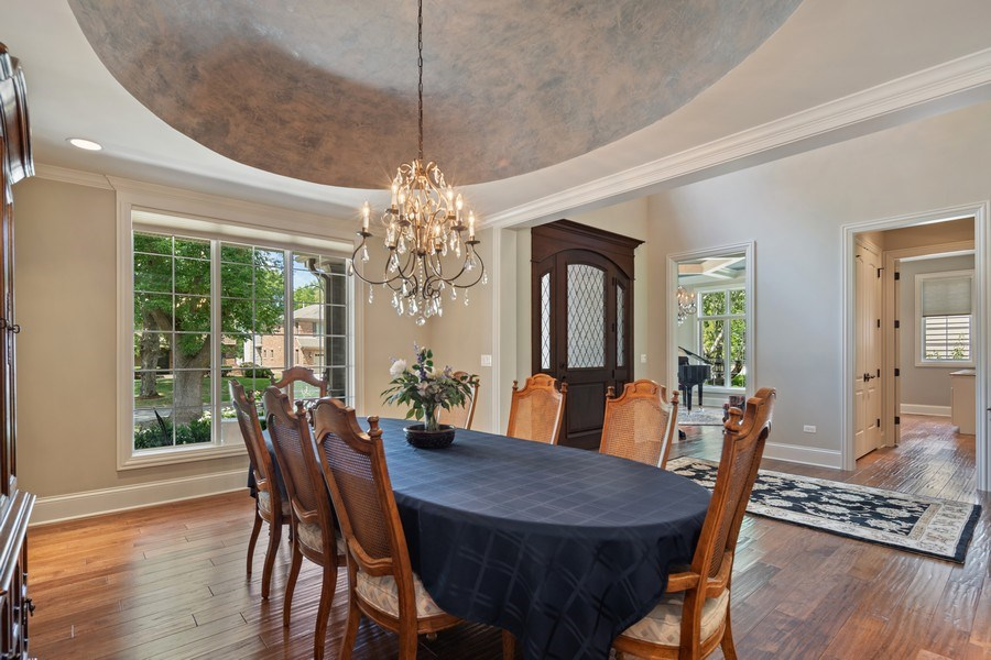 Real Estate Photography - 1108 Heatherton Dr, Naperville, IL, 60563 - Dining Room