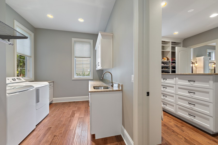 Real Estate Photography - 1108 Heatherton Dr, Naperville, IL, 60563 - Laundry Room
