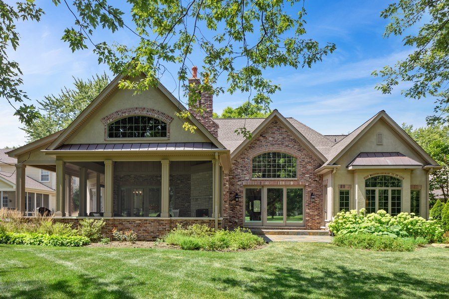 Real Estate Photography - 1108 Heatherton Dr, Naperville, IL, 60563 - Rear View