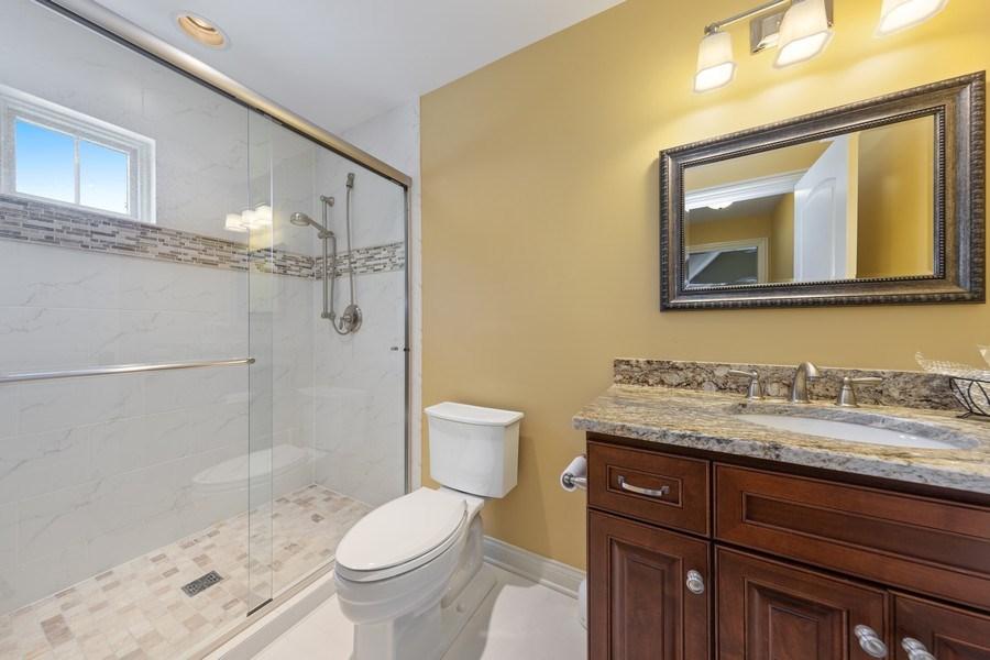 Real Estate Photography - 1108 Heatherton Dr, Naperville, IL, 60563 - Ensuite bath for BR 2