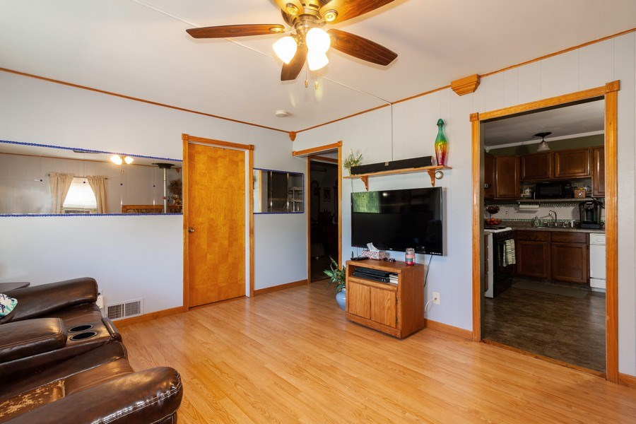 Real Estate Photography - 25443 West Route 30 Hwy, Plainfield, IL, 60585 - Living Room