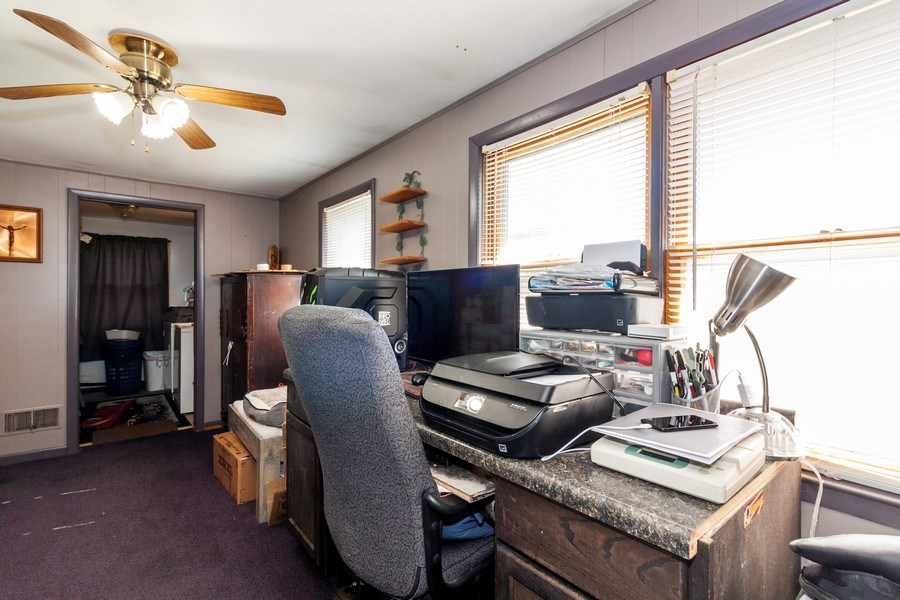 Real Estate Photography - 25443 West Route 30 Hwy, Plainfield, IL, 60585 - Office