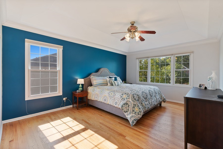 Real Estate Photography - 1229 Wind Energy Pass, Batavia, IL, 60510 - Master Bedroom