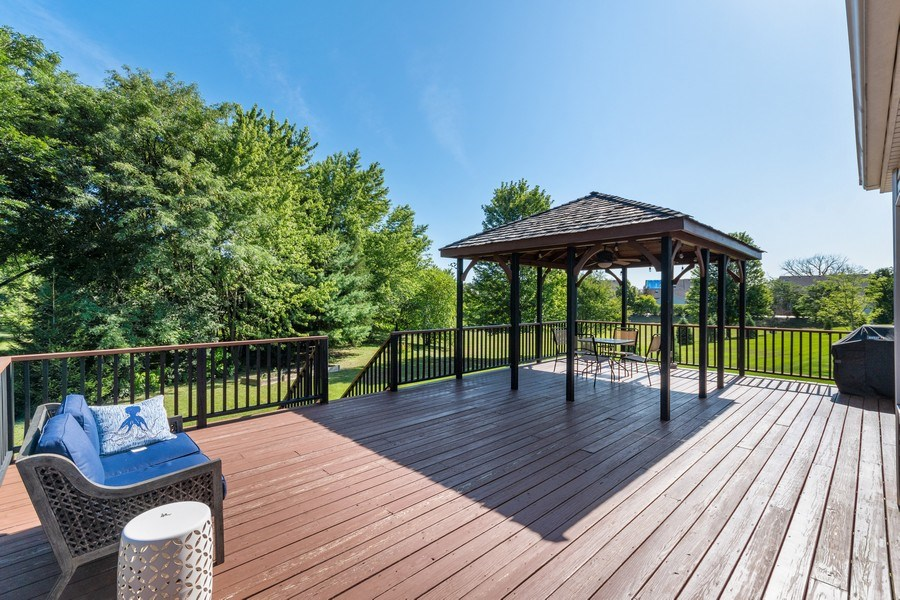 Real Estate Photography - 1229 Wind Energy Pass, Batavia, IL, 60510 - Back Yard