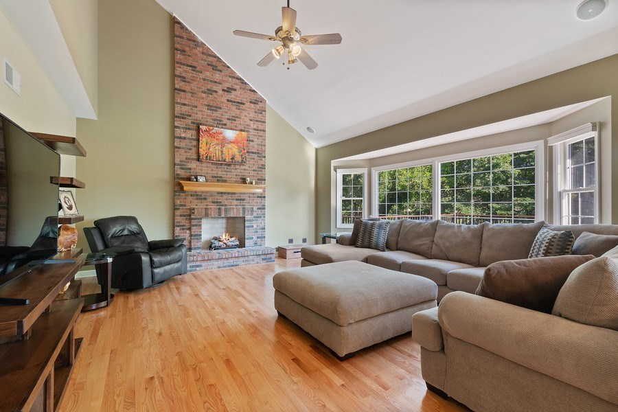 Real Estate Photography - 1229 Wind Energy Pass, Batavia, IL, 60510 - Family Room