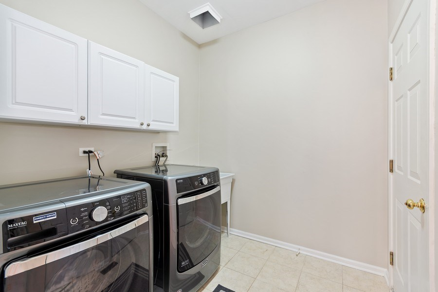 Real Estate Photography - 1229 Wind Energy Pass, Batavia, IL, 60510 - Laundry Room