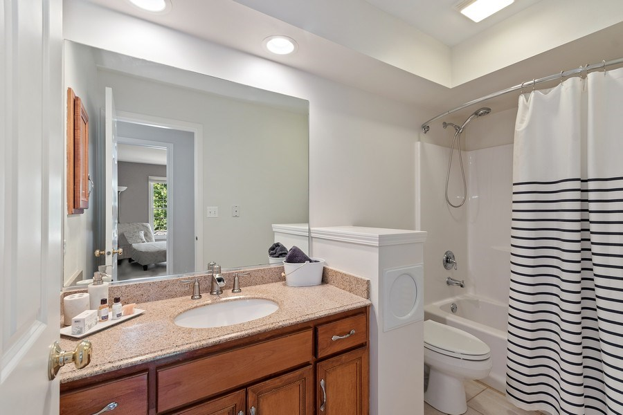 Real Estate Photography - 1229 Wind Energy Pass, Batavia, IL, 60510 - 2nd Bathroom