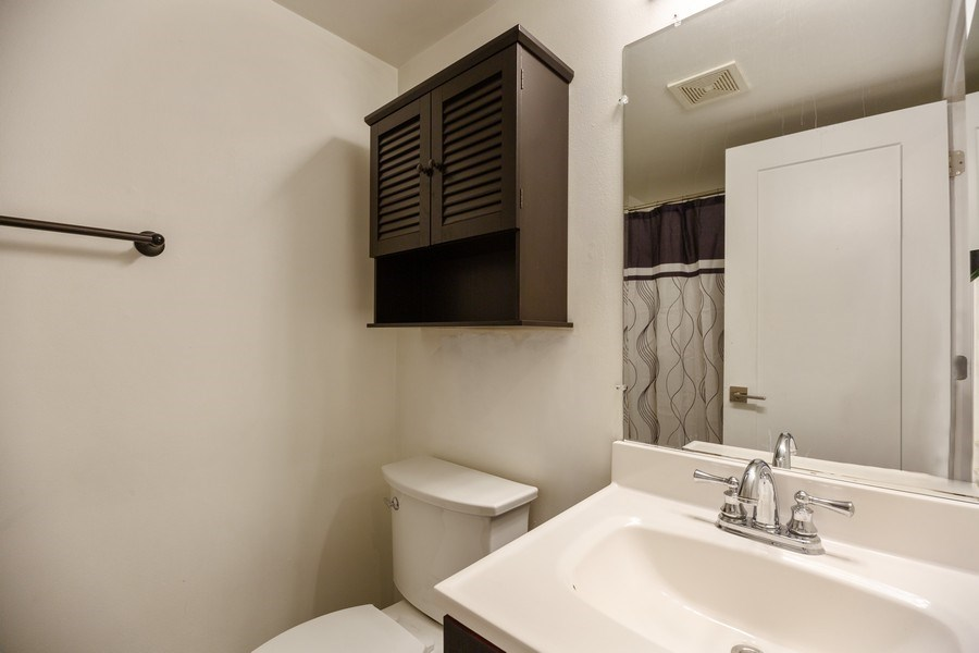 Real Estate Photography - 2431 East Brandenberry Ct, 1R, Arlington Heights, IL, 60004 - Bathroom