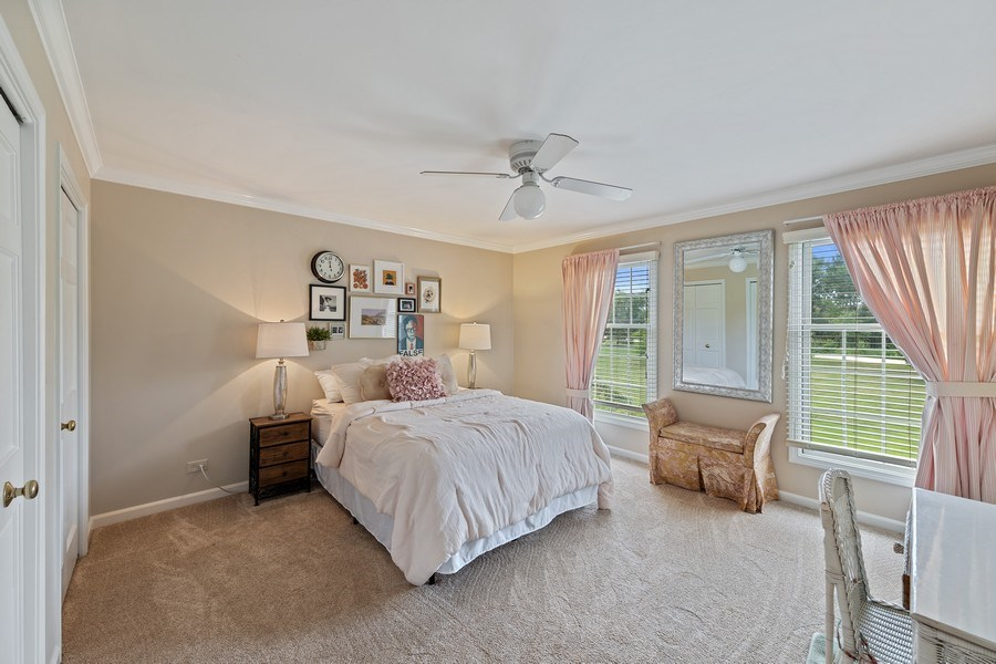 Real Estate Photography - 20831 North Wildrose Dr, Deer Park, IL, 60010 - 2nd Bedroom
