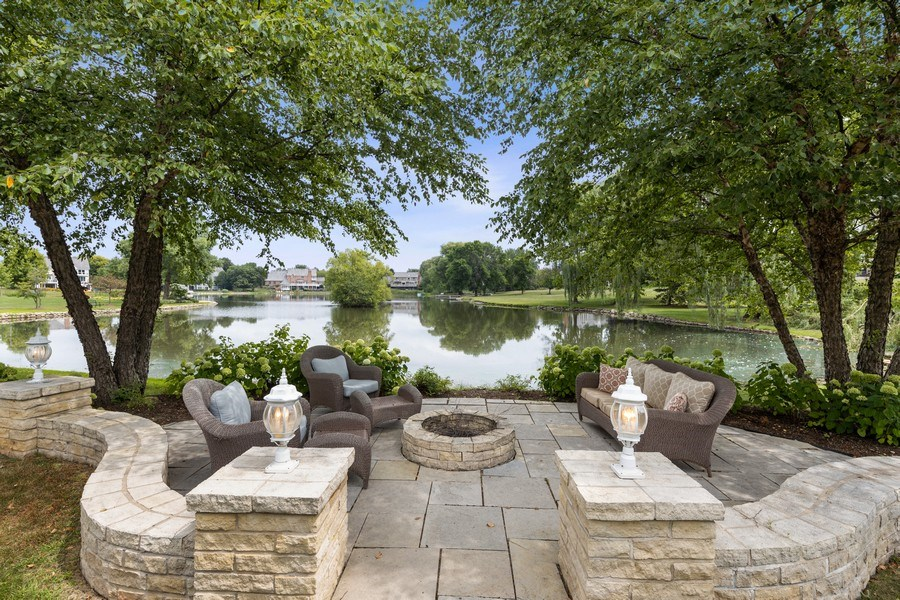 Real Estate Photography - 20831 North Wildrose Dr, Deer Park, IL, 60010 - Patio