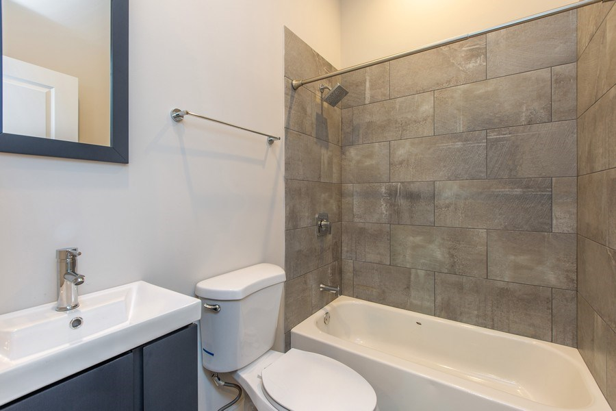 Real Estate Photography - 1450 North Ashland Ave, Chicago, IL, 60622 - 3rd Bathroom